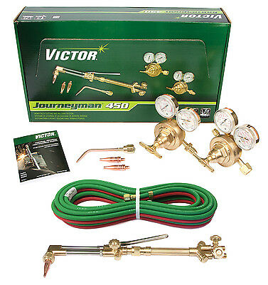0384-0807 Victor Journeyman 450 Torch Kit Set Ca2460 315fc Sr450d 20 316 Hose