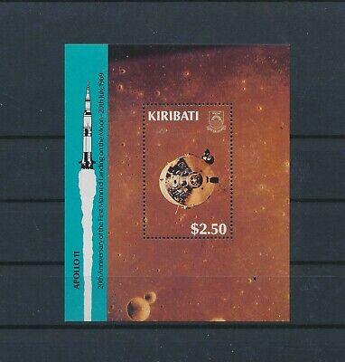 LO12202 Kiribati first moon landing good sheet MNH