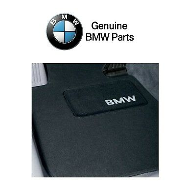 For BMW E36 318i 323i 325i Base Convertible Set of 4 Black Floor Mats Genuine Bmw 325i Floor Mats