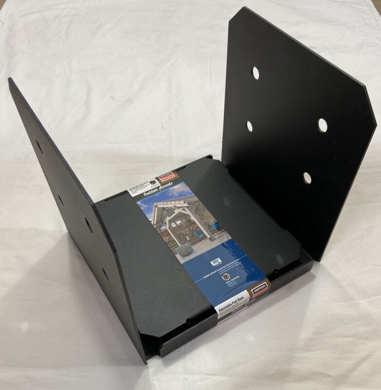 Simpson Strong-Tie Post Base for 10x10, Black Powder-Coated Outdoor Accents