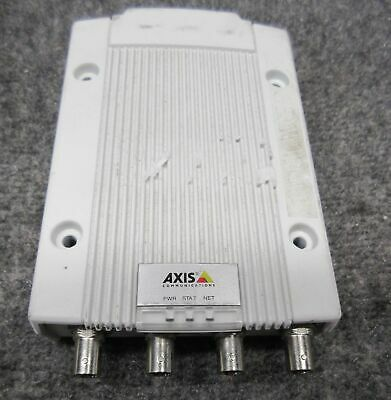 Axis Communications M7014 4-channel Video Encoder 0415-001-01 Tested Working