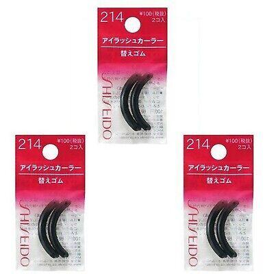 Shiseido Eyelash Curler Sort Rubber 214 3 Pics