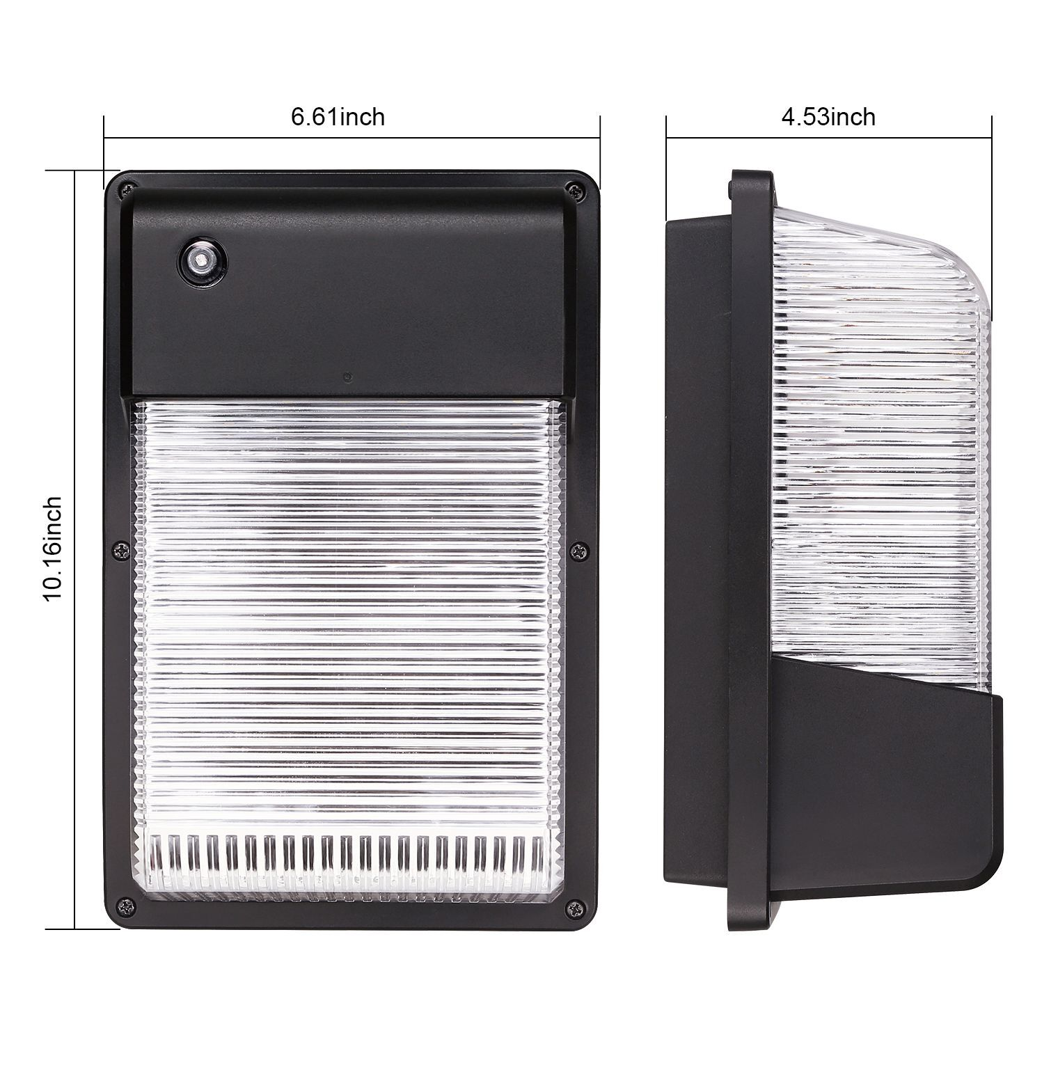 16W 25W Dusk To Dawn LED Wall Pack Photocell Outdoor LED Wall Mount Light