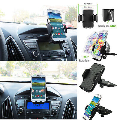 Universal Car CD Slot Mount Stand phone Holder for Samsung Galaxy S5 / S6 edge
