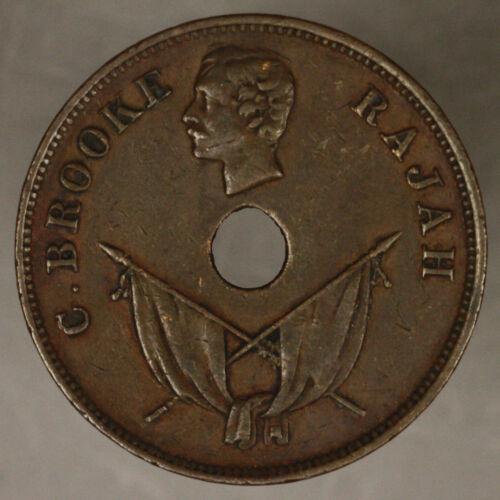 Sarawak 1897 H cent xf