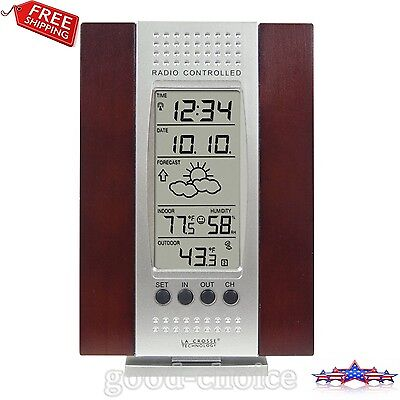 La Crosse Technology Wireless Forecast Station Indoor Outdoor Temperature New