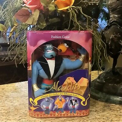 NIB Vintage 1993 Mattel Disney ALADDIN Fashion Genie Barbie Doll