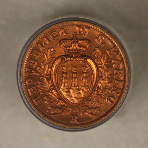 San Marino 1936 5 Centesimi bu