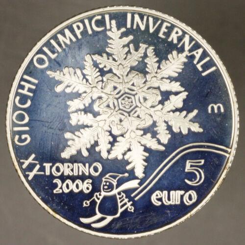 San Marino 5 Euro 2005 Proof