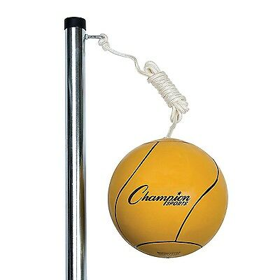 Champion Sports Deluxe Tether Ball Set Official Size With Carrying Bag DTBSET