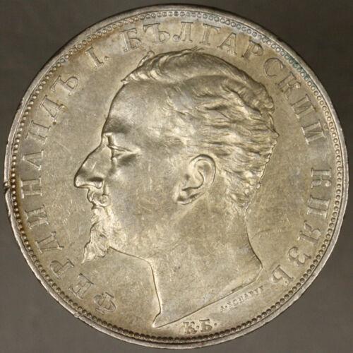 Bulgaria 1894 5 Leva AU