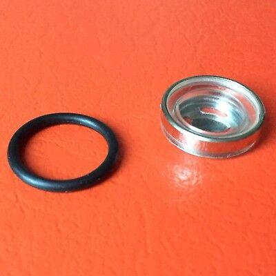 Schauglas Sichtglas Bremsflüssigkeitsbehälter 18mm Motorrad Roller Bremszylinder