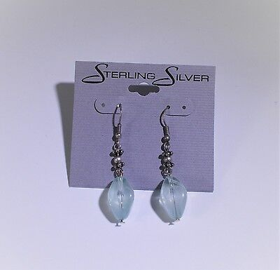 Sterling Silver Earring Card Display - 100pcs