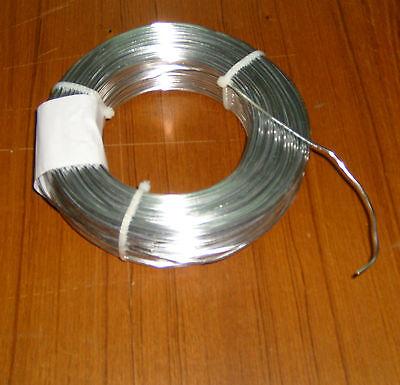 (0,34€/m) Aludraht 3mm silberglanz, silber 53m 1 kg Schmuckdraht  Aluminiumdraht