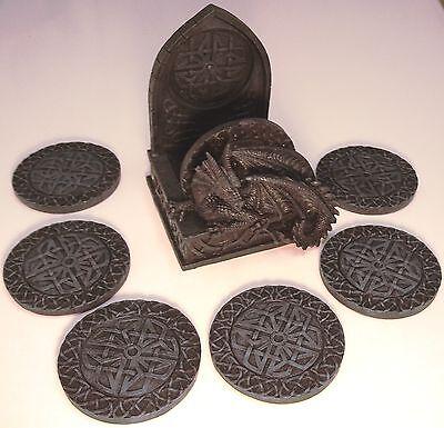 Подставки Celtic Dragon Coasters ( Resin