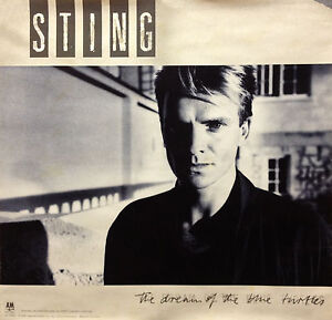 Sting-1985-Original-Dream-Of-The-Blue-Turtles-Promo-Poster