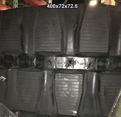 2-tracks Hanix Nissan Rubber Track H50b H 50b H-50-b 400x72x72.5 40072725