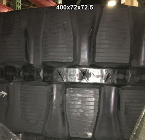 (2-tracks) Scattrack Rubber Track 150 545 400x72x72.5 40072725