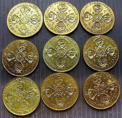 Russian coin 10 Rubles dated 1777-1796 Please read description!