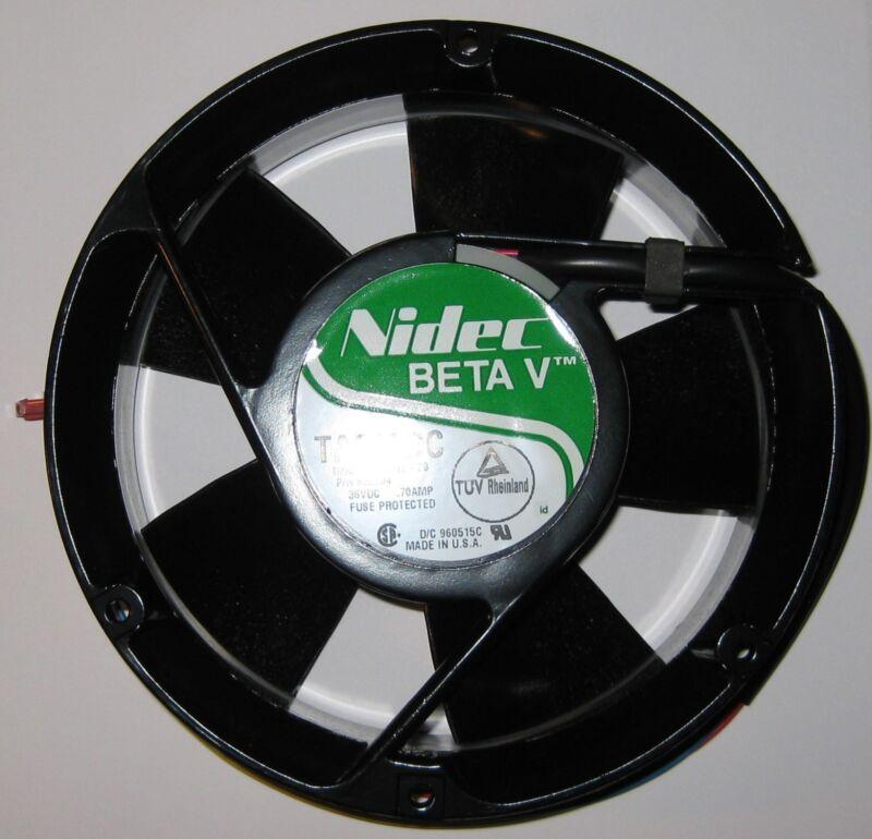 Nidec Beta TA600DC 172mm x 51mm High CFM Round Fan - 36 V - 3350 RPM - 240 CFM