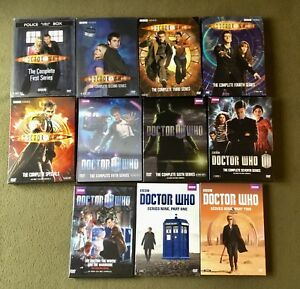 Doctor Who Series 1,2,3,4,5,6,7 and 9 DVD Box Set