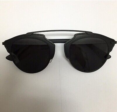 CHRISTIAN DIOR MATTE BLACK DIOR SO REAL SUNGLASSES LIMITED EDITION USED ONCE