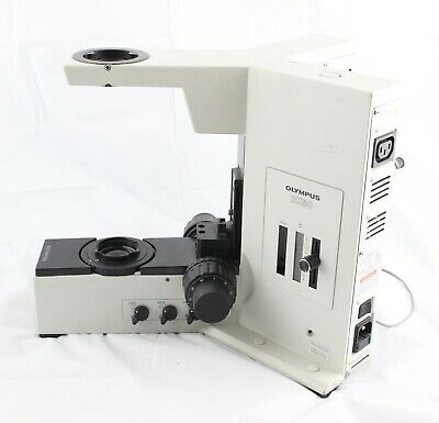 Olympus Bx50 Base Stand Microscope Bx50f-3 Led