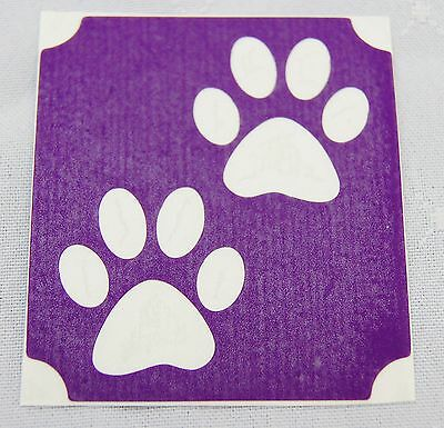 GT103 Body Art Temporary Glitter Tattoo Stencil Cat Paws Paw Prints](Cat Paws Tattoo)