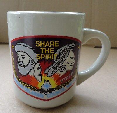1994 BSA Hudson Delaware Council 9 oz Share the Spirit Staff Coffee Mug