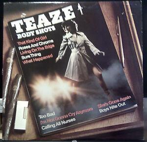Canadian Hard Rock AOR LP by TEAZE Body Shots 1980 Canadian Press - Italia - Canadian Hard Rock AOR LP by TEAZE Body Shots 1980 Canadian Press - Italia