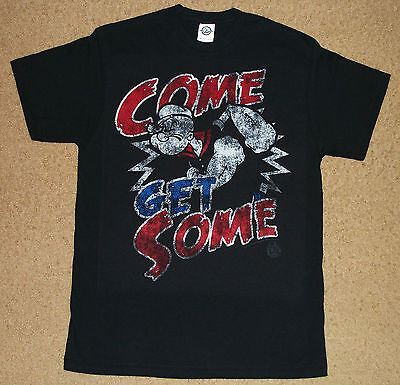 Popeye Come Get Some Distressed Shirt Officially Licensed