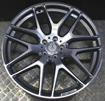 1x Mercedes Alufelge AMG GLE Coupé C292 W166 10Jx22 ET56 A2924012400 Grau