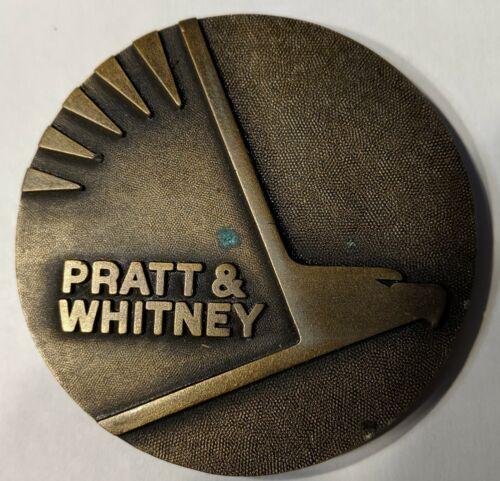 Pratt Whitney Brass Belt Buckle, New in wrapper