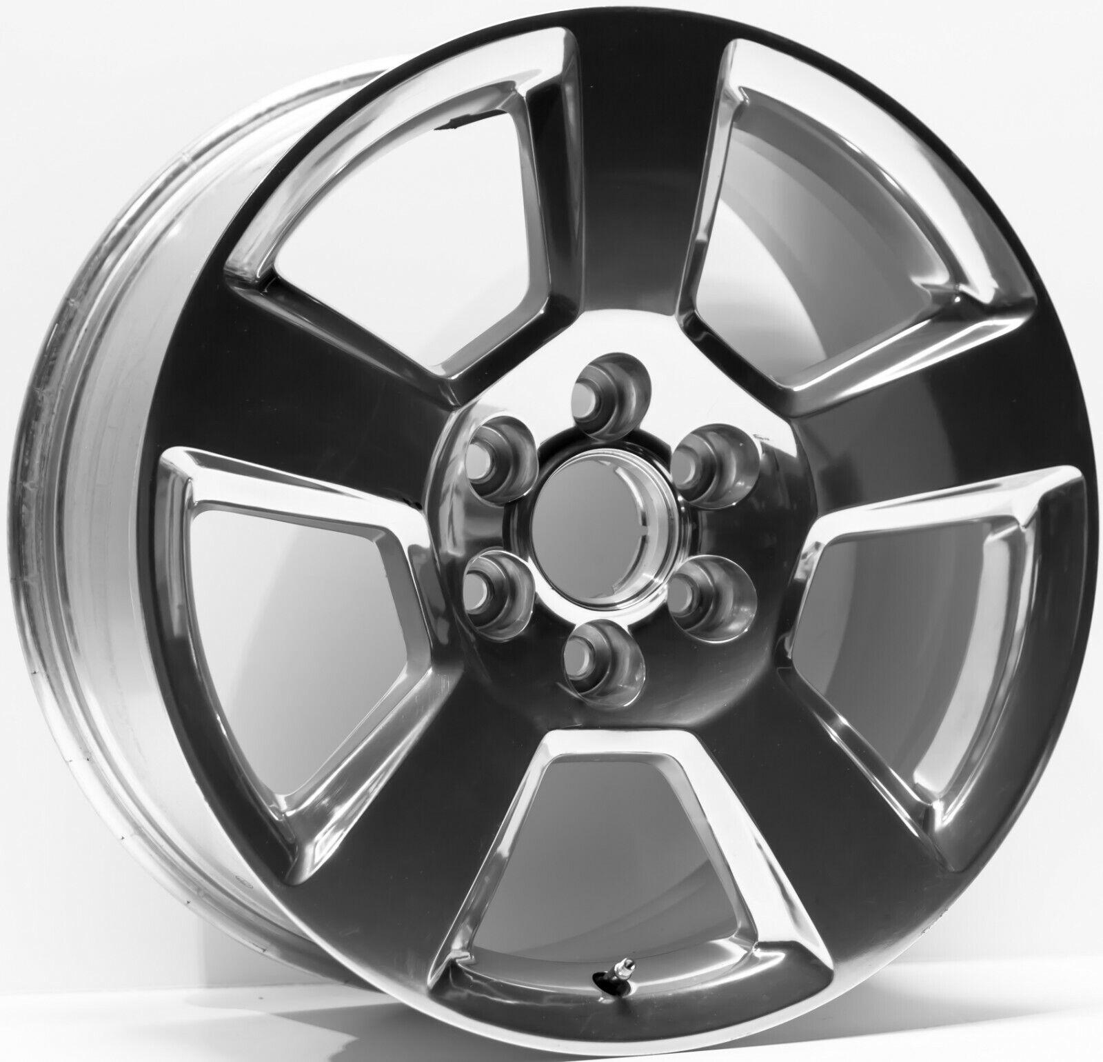 20 Inch Aluminum Alloy Wheel Rim 2019 GMC Sierra 1500 6 Lug 139.7mm 20x9