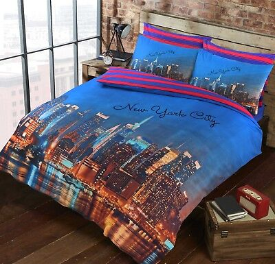New York City Pattern Luxurious Modern Stylish Duvet Cover Sets Bedding Sets NZ