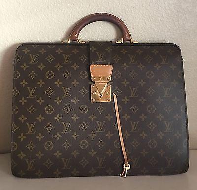 Authentic Louis Vuitton Monogram Serviette Conseiller Briefcase Bag