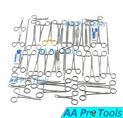 90 Pcs Caninefeline Spay Pack Veterinary Surgical Instruments Ds-1083