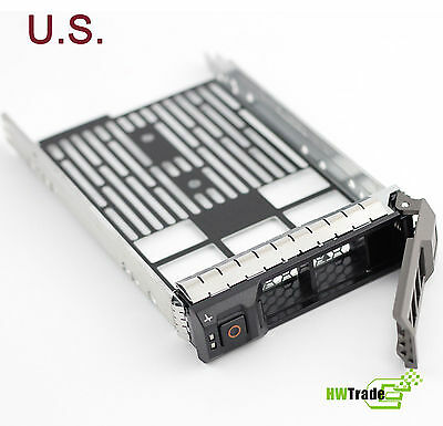 "3.5/"" SAS SATA Hard Drive Tray Caddy F4 Dell PowerEdge R310 HotSwap Ship From USA"