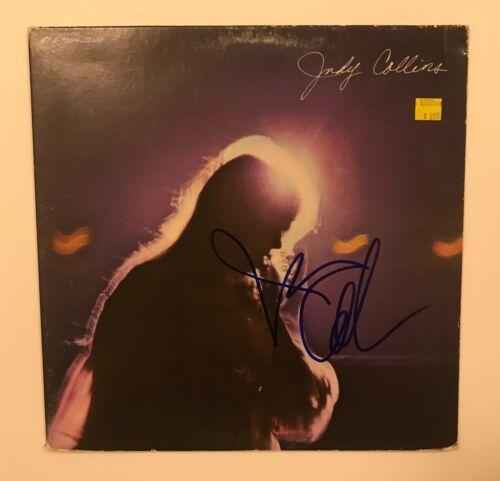* JUDY COLLINS * signed vinyl album * LIVING * PROOF * 1