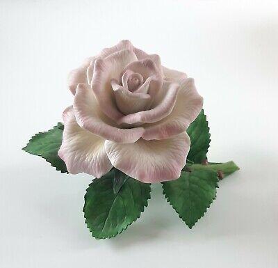 Vintage Lefton Flower Pink Porcelain Pansy Figurine 1999