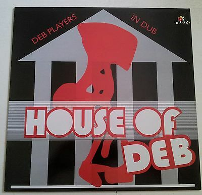 HOUSE OF DEB - DUBS  FROM DEB MUSIC!!    V I N Y L !!!!   KILLA!!!