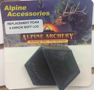 NEW ALPINE ARCHERY REPLACEMENT QUIVER FOAM FOR SOFT LOC AND BEARCLAW QUIVERS Alpine Archery Alpine Quiver