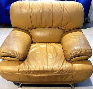 Leather chairs (2) will sell 1 or both Yowie Bay Sutherland Area Preview