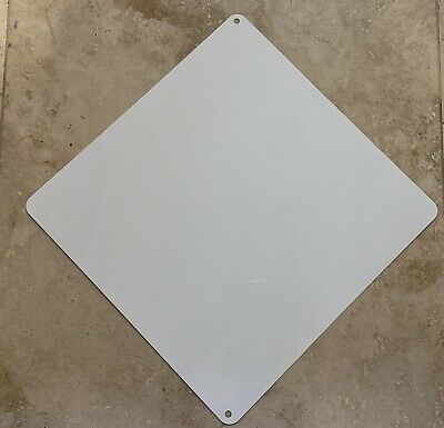 25 Pieces Aluminum Sublimation Blanks 12x 12 - 2 Holes Caution Sign