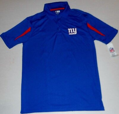 NEW YORK GIANTS TX3COOL APPAREL GOLF COACHES POLO SHIRT MENS M L XL 2X BLUE NWT - New York Giants Blue Coaches