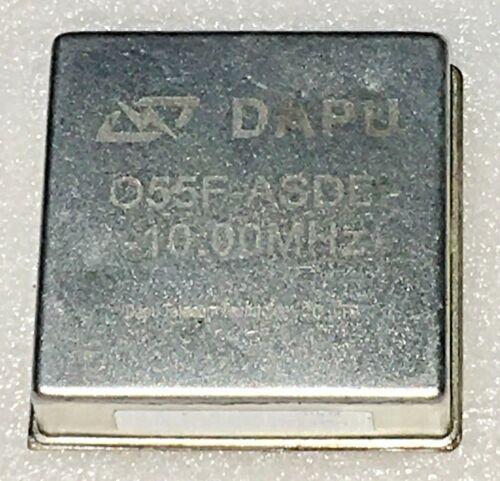 DAPU O55F-ASDD 10MHz OCXO Crystal Oscillator +12V EFC