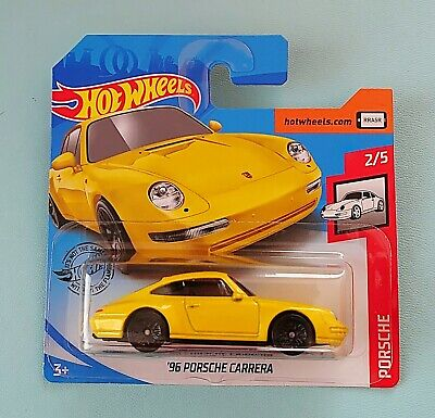 Hot Wheels 2020. 96 Porsche Carrera. New Collectable Toy Model Car. ShortCard.