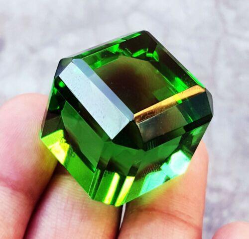 Loose Gemstone Between 140 to 150 Ct Certified Big Size Green Topaz