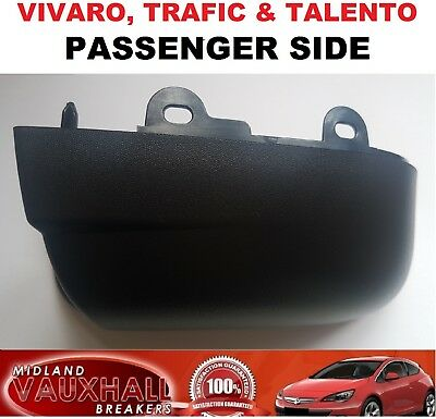 PASSENGER SIDE VIVARO TRAFIC TALENTO VAN LOWER WING MIRROR COVER CASING BOTTOM
