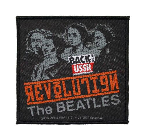 The Beatles Revolution Woven Sew On Battle Jacket Patch - Licensed 077-J